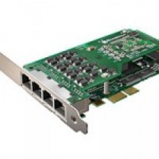 Sangoma A104DE Quad Voice and Data Card (PCIe)